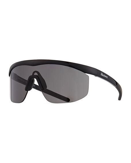 Image 1 of 3: Illesteva Managua Monochromatic Shield Sunglasses