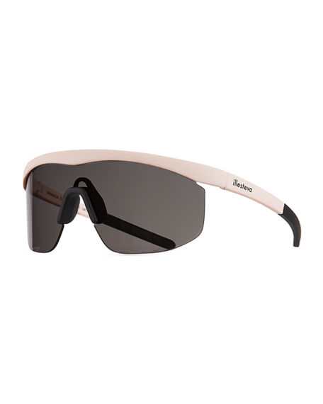 Illesteva Managua Monochromatic Shield Sunglasses