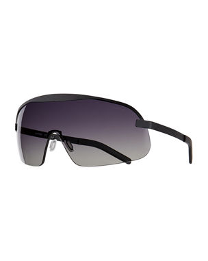 13bdf57b5dc Illesteva Hopper Gradient Shield Sunglasses