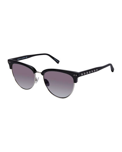 Tilden Studded Cat-Eye Sunglasses