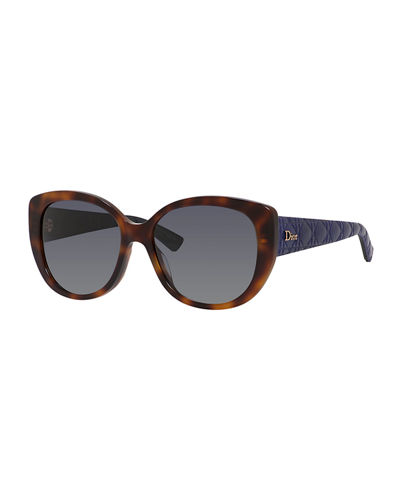 Lady 1 Oversized Cat-Eye Sunglasses
