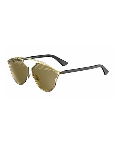 So Real Studded Sunglasses