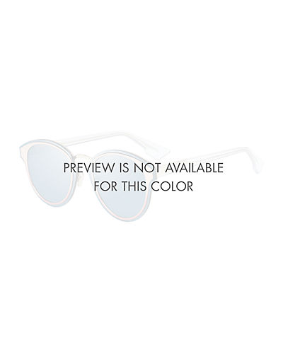 5a8eef2bb19bf DiorNightfall Square Mirrored Sunglasses