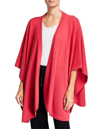 Neiman Marcus Cashmere Collection Cashmere Cape Wrap