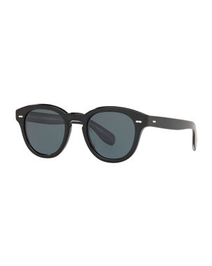 fc5b84d3e8c1 Oliver Peoples Cary Grant Oval Polarized Acetate Sunglasses