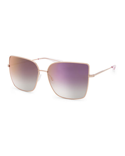 Mystere Rectangle Titanium Sunglasses
