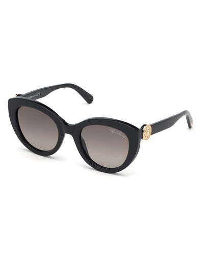 Roberto Cavalli Acetate Cat-Eye Sunglasses