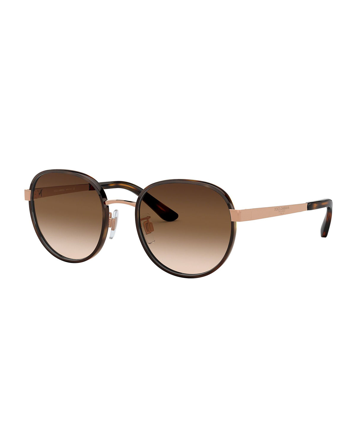 Dolce & Gabbana Sunglasses ROUND METAL SUNGLASSES