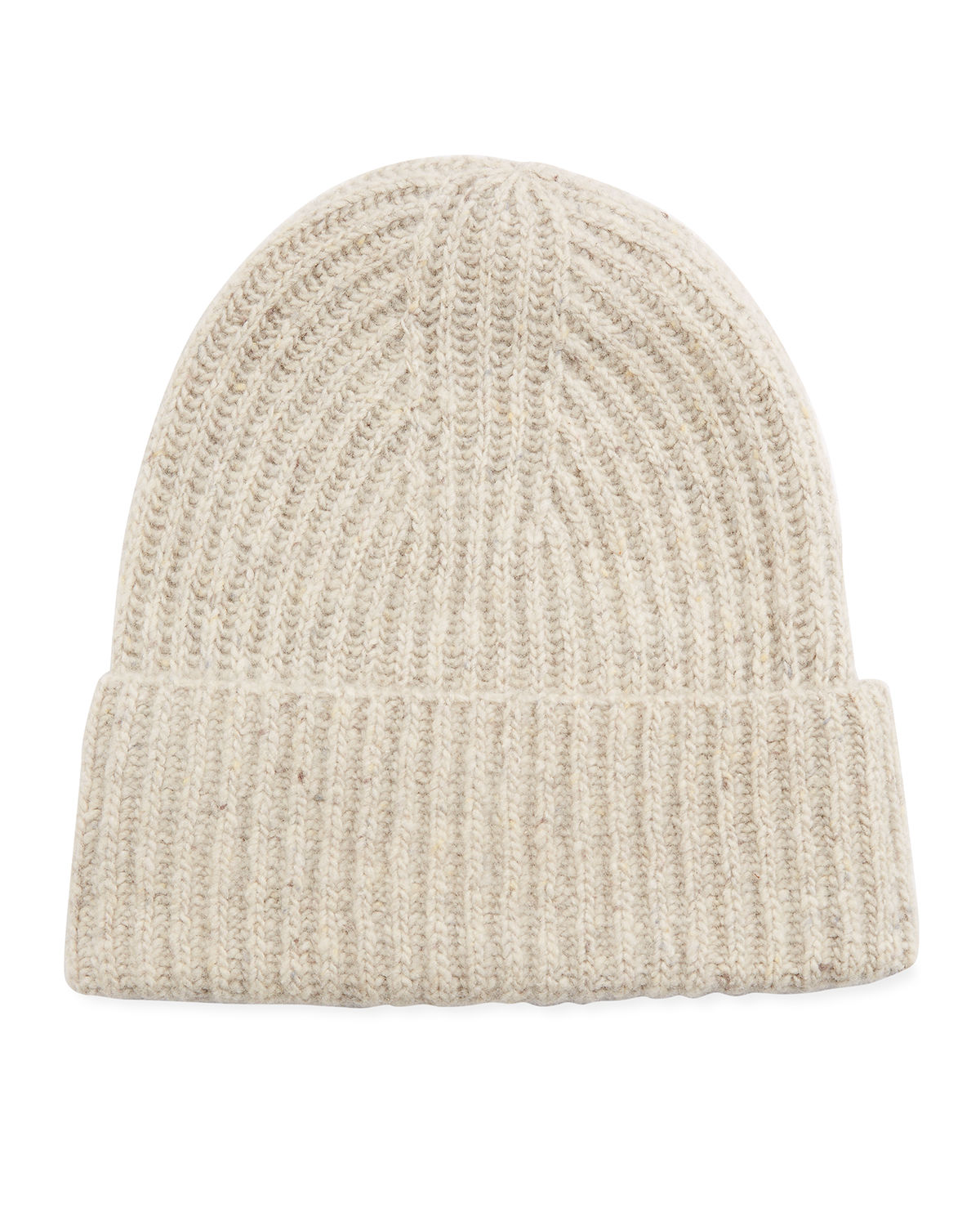 Vince Hats CASHMERE RIBBED BEANIE HAT