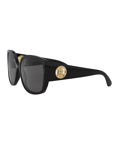 Burberry Oversized Square Acetate Sunglasses