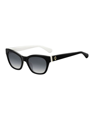 jerris rectangle acetate sunglasses