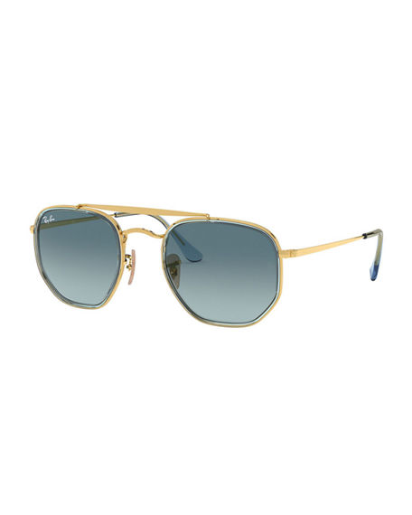 Ray-Ban Rectangle Steel Gradient Sunglasses