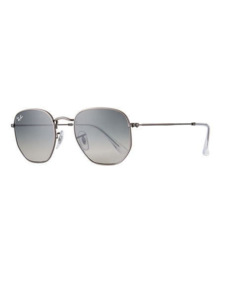 Ray-Ban Square Steel Monochromatic Sunglasses