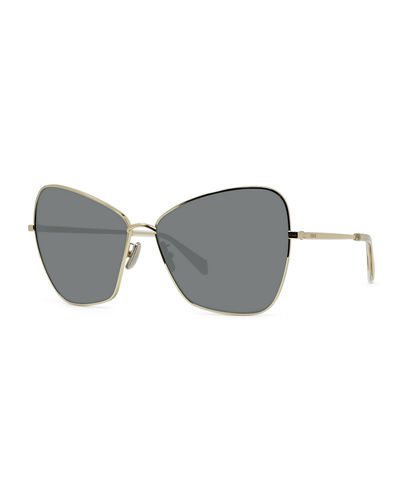 Metal Butterfly Sunglasses