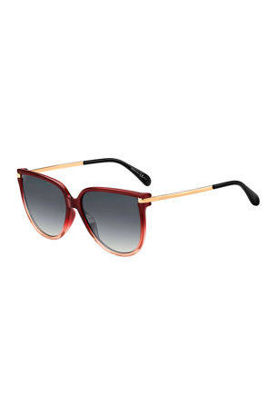 Givenchy Propionate & Metal Round Sunglasses