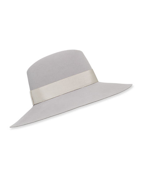 Maison Michel Kate Timeless Waterproof Fedora Hat