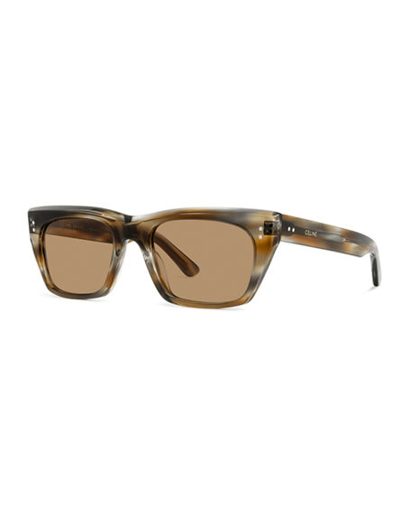 Celine Rectangle Acetate Sunglasses