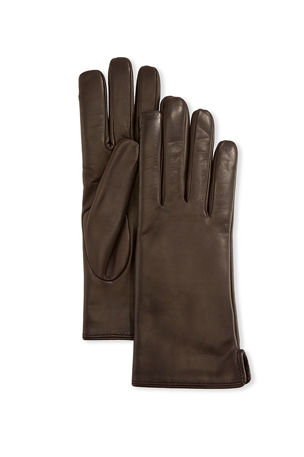 Mario Portolano Napa Leather Gloves w/ Rabbit Fur Lining