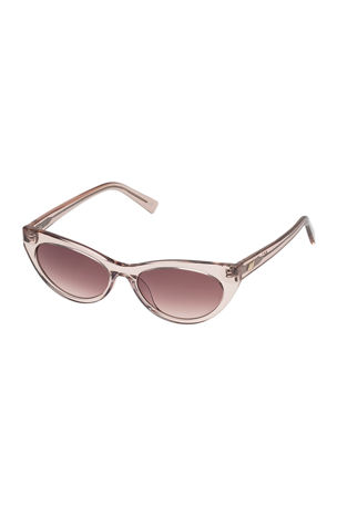 Le Specs Luxe Bunny Hop Cat-Eye Sunglasses