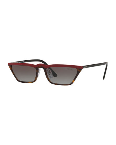 Prada Slim Acetate Cat-Eye Sunglasses