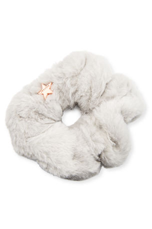 Jocelyn Sheared Rabbit Fur Scrunchie