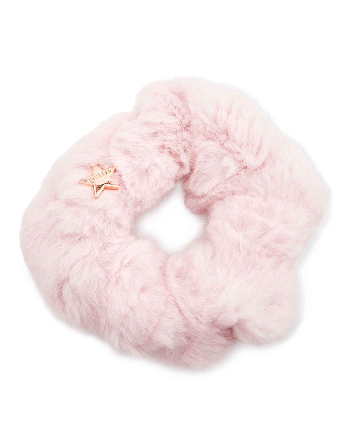 Jocelyn Accessories SHEARED RABBIT FUR SCRUNCHIE