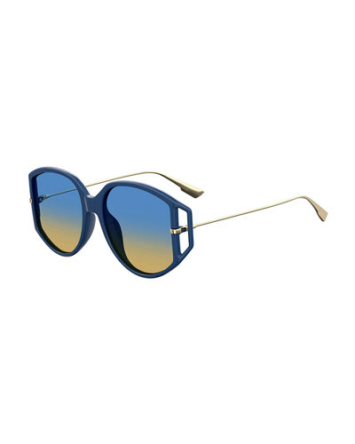 DiorDirection2 Round Sunglasses