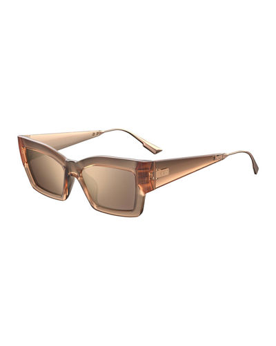 CatStyleDior2 Rectangle Sunglasses