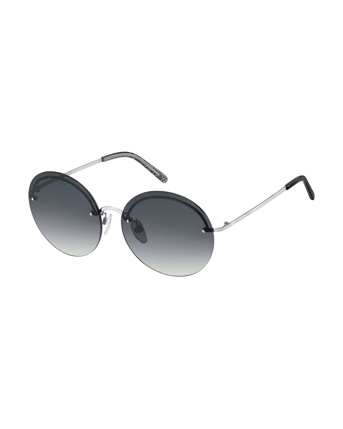 Marc Jacobs Sunglasses RIMLESS ROUND STAINLESS STEEL SUNGLASSES