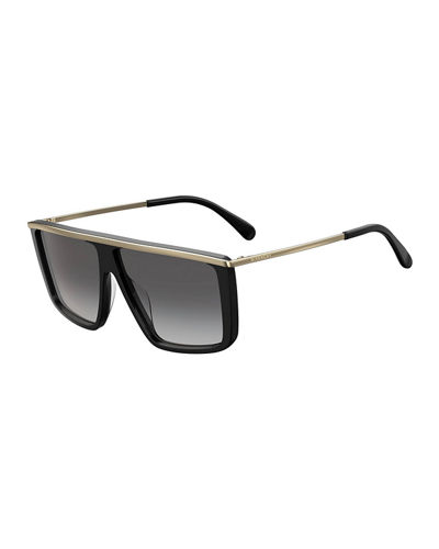 Flattop Acetate Sunglasses
