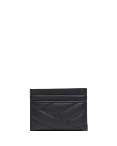 Tory Burch Cases Kira Quilted Leather Card Case