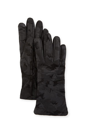 UR Smart Leather Moto Gloves