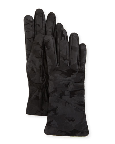 Smart Leather Moto Gloves
