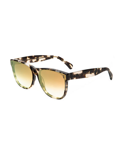 Madrid Rectangle Acetate Sunglasses