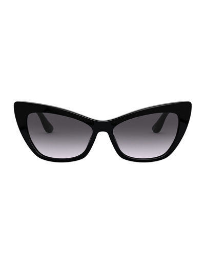 Dolce & Gabbana Gradient Acetate Cat-Eye Sunglasses
