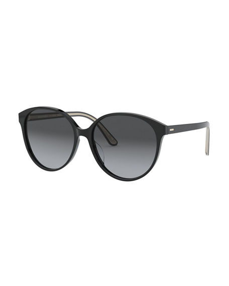 Oliver Peoples Brooktree Polarized Oval Sunglasses