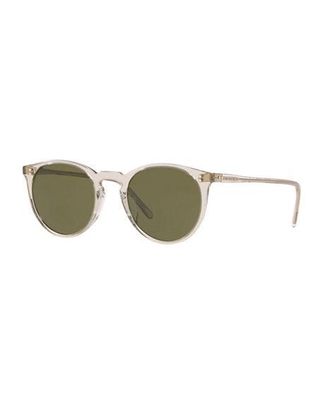 Oliver Peoples O'Malley Oval Acetate Sunglasses