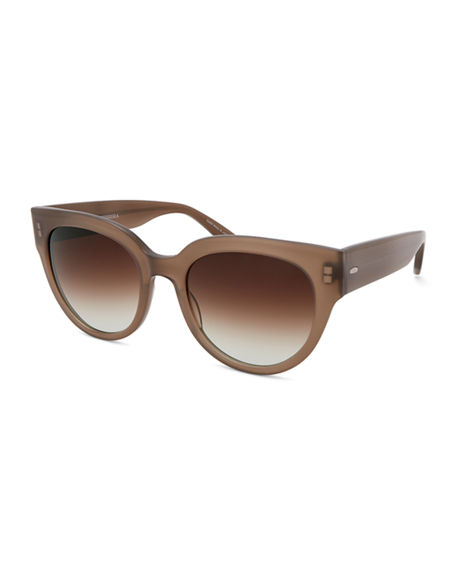 Barton Perreira Syrinx Cat-Eye Zyl Acetate Sunglasses