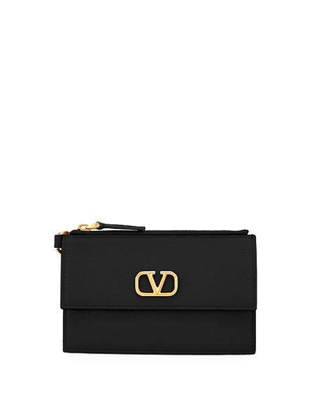 Valentino Garavani VLOGO Card Case/Coin Purse
