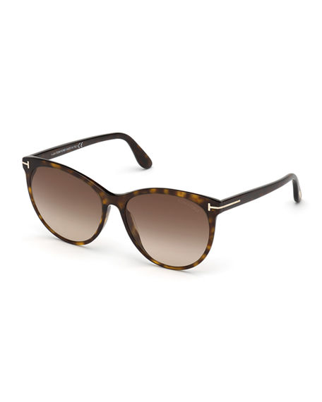 TOM FORD Maxim Cat-Eye Acetate Sunglasses