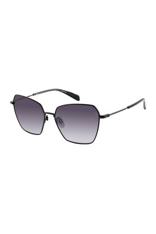 Rag & Bone Butterfly Stainless Steel Sunglasses