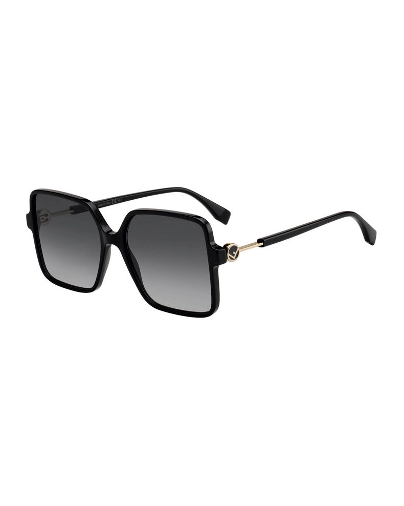 Fendi Square Acetate Sunglasses