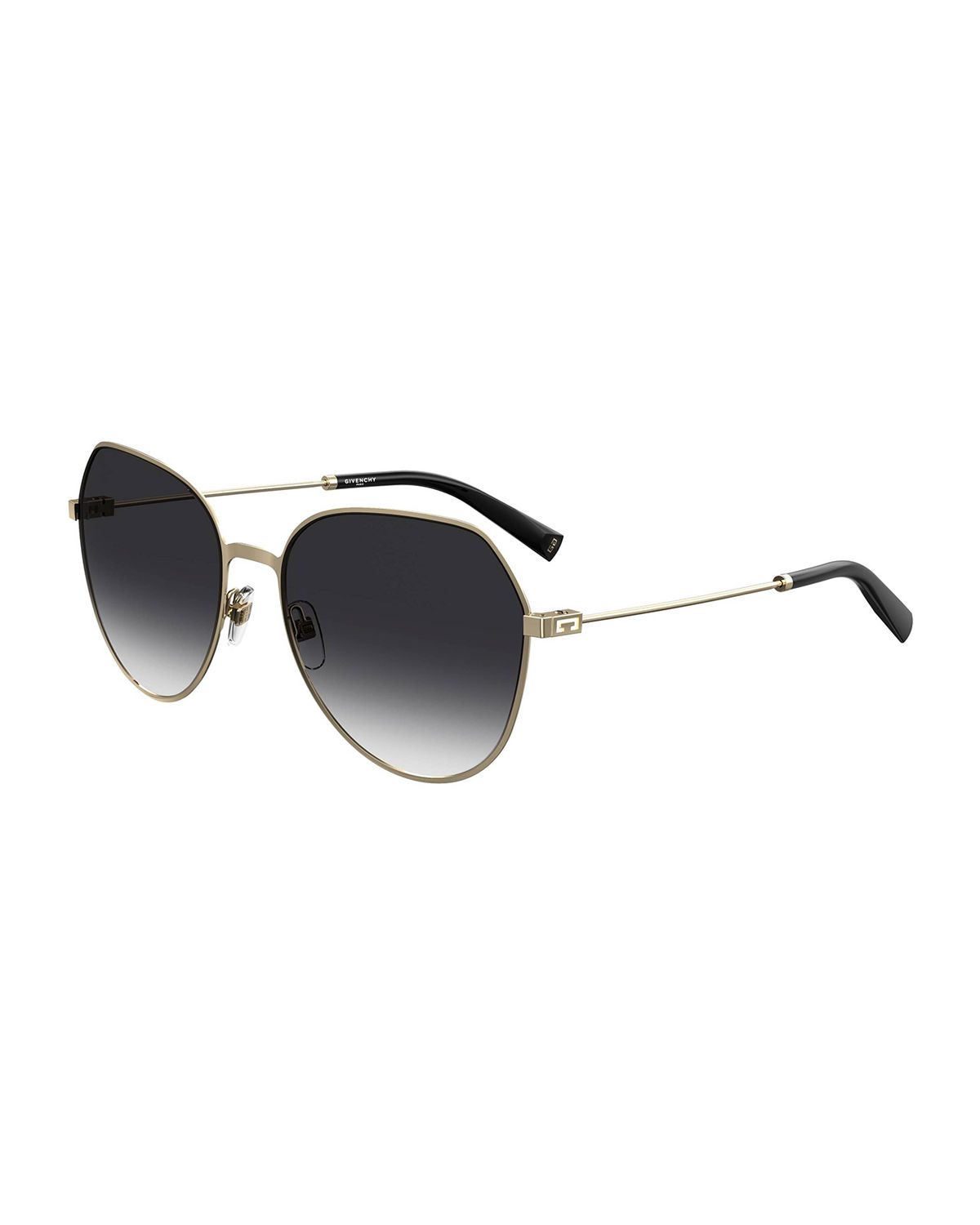 Givenchy SQUARE STAINLESS STEEL SUNGLASSES