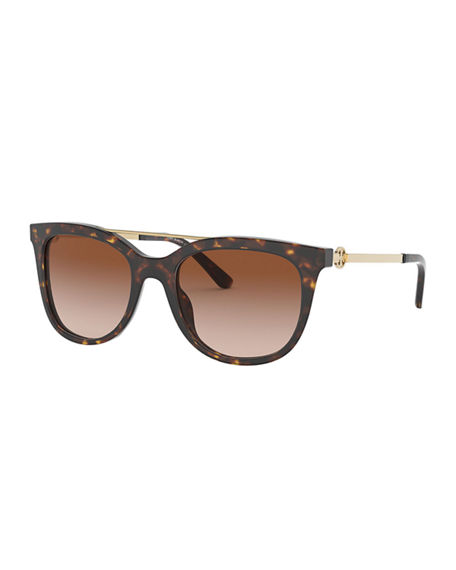 Tory Burch Rectangle Acetate Sunglasses