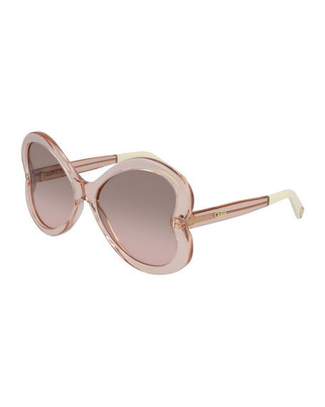 Chloe Bonnie Butterfly Sunglasses