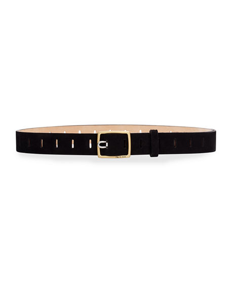 Rag & Bone Sidekick Suede Belt