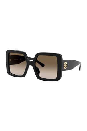 Tory Burch Chunky Square Acetate Sunglasses