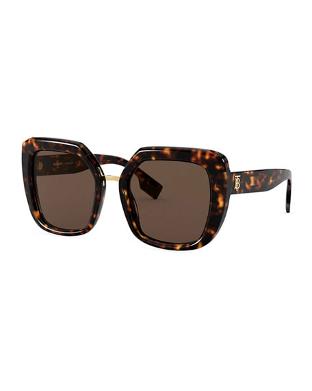 Burberry Chunky Square Acetate Sunglasses