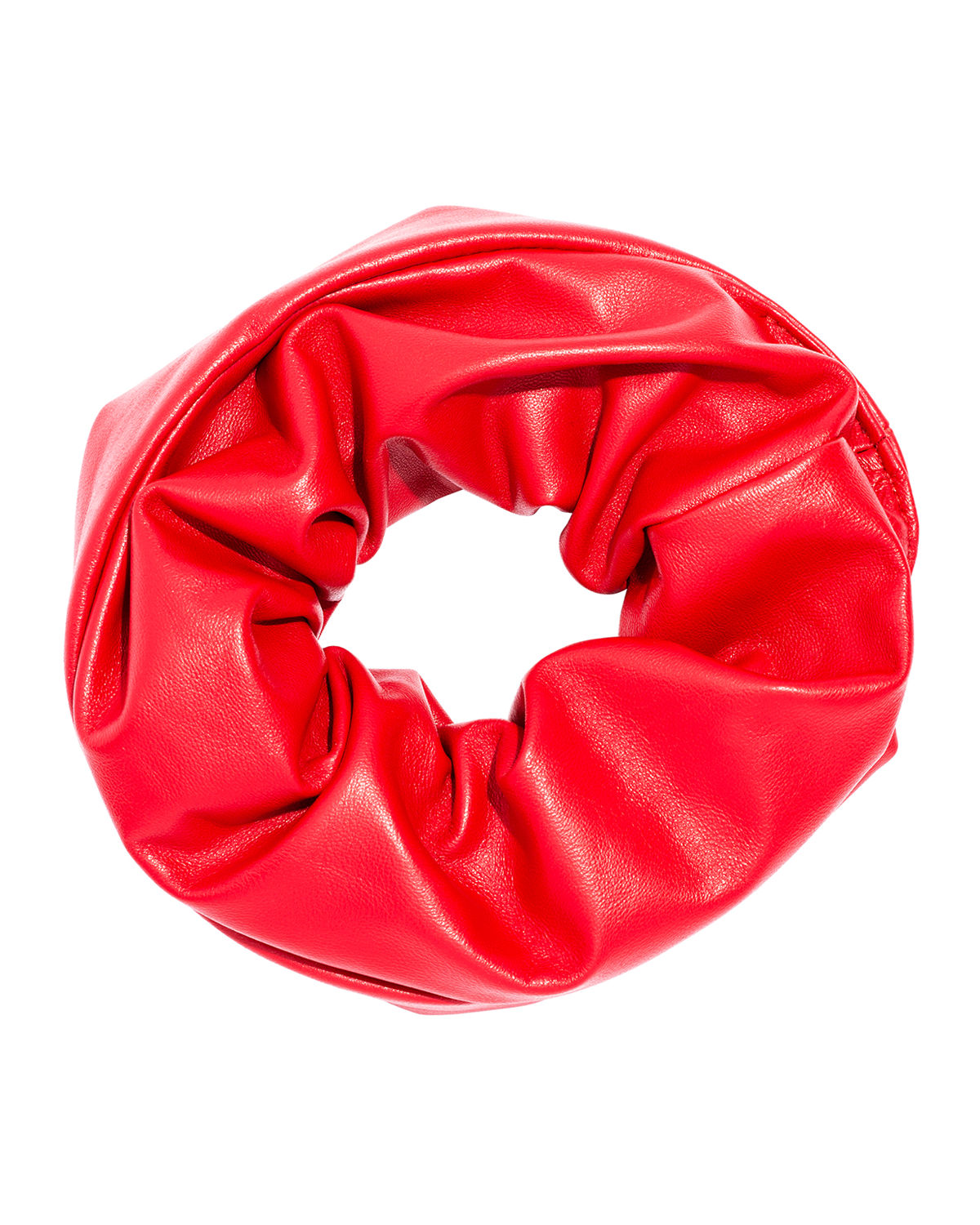 Large Leather Scrunchie