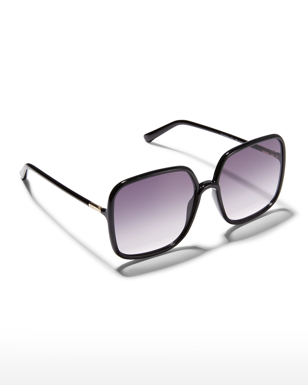 SoStellaire1 59mm Oversized Square Injection Plastic Sunglasses